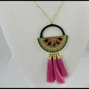 NEW INC WATERMELON NECKLACE